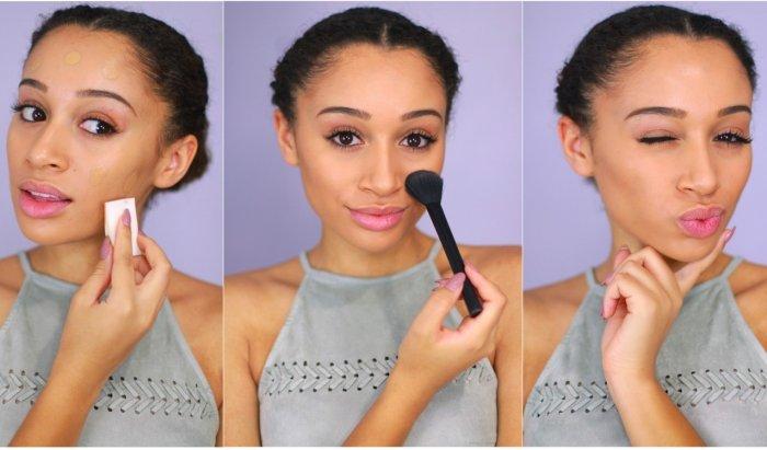 Красивый и простой макияж