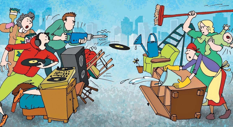Как выжить шумных соседей сверху. Шум и топот от соседей сверху
