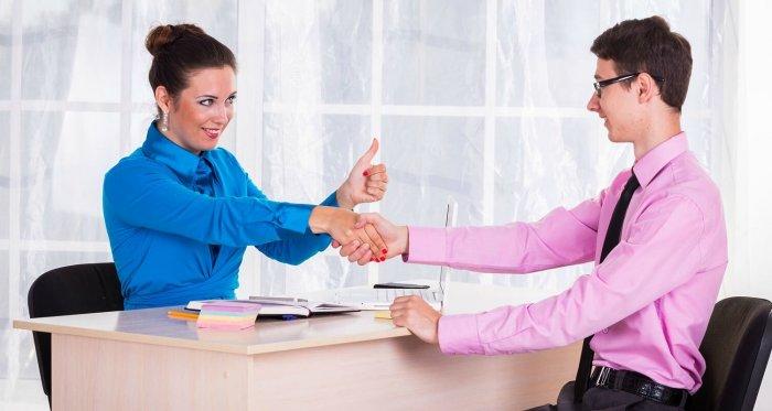 Как вести себя на собеседовании при устройстве на работу