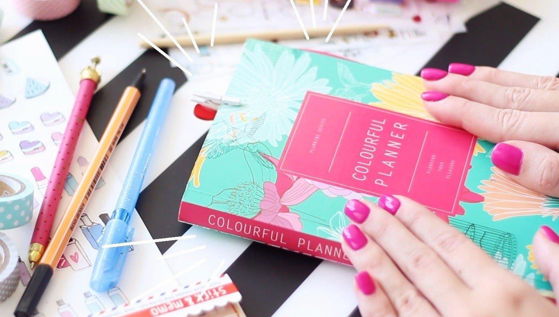 Как оформить 1 страницу ежедневника
