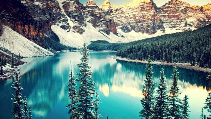 Озеро Луиза (Канада)
