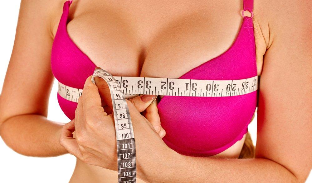 Как увеличить грудь с помощью
