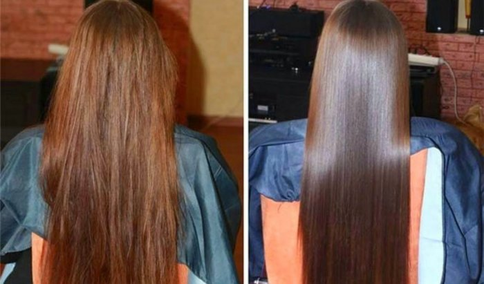 Биовыпрямление волос