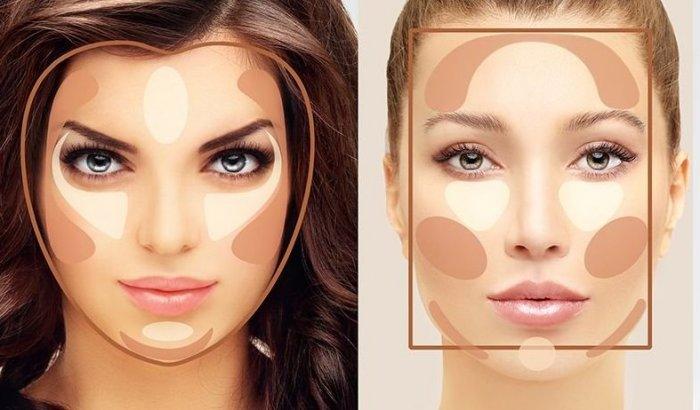 Выравнивание тона  кожи