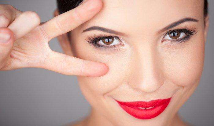 Уроки макияжа нависшее веко