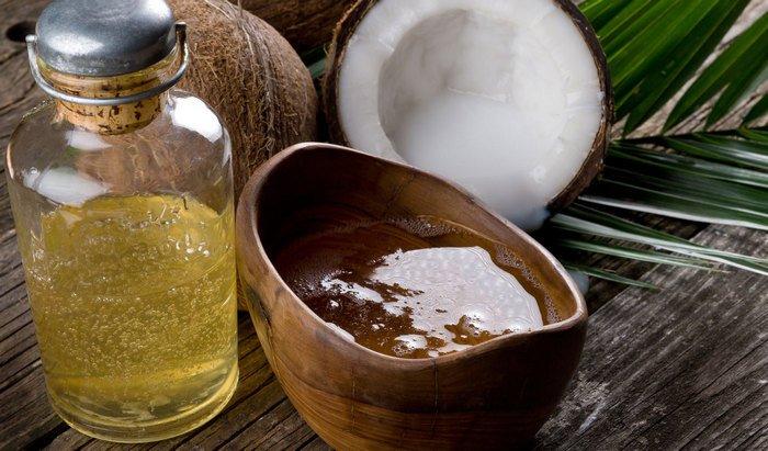Маска для волос с кокосовым