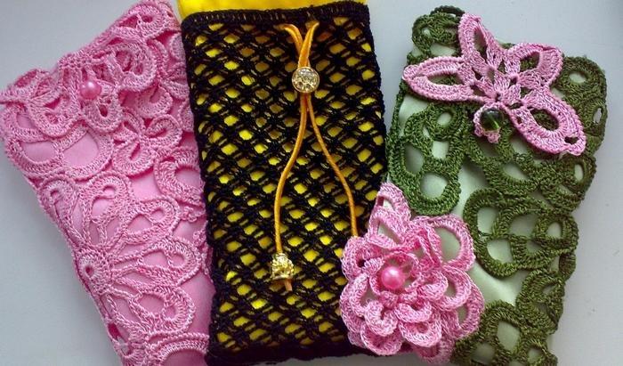 1522046971_29012011237 Вязание чехла для телефона крючком: как связать своими руками, варианты схем сумочки для смартфона