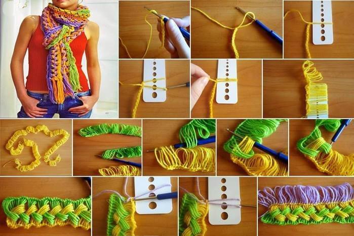Вязание крючком снуда для начинающих видео уроки