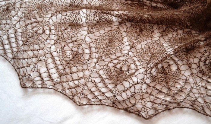 1522401775_dsc_1461 Ажурный шарф: кружевной шарф из ленточного и ирландского кружева, ажурный шарф из секционной пряжи от Светланы Коломиец