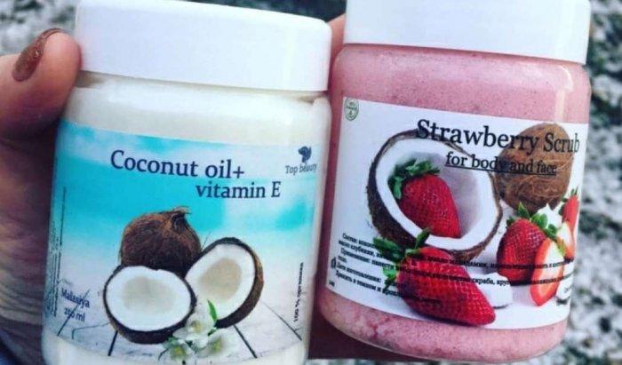 Покупные средства с кокосовыми маслами
