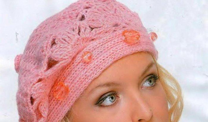 Берет крючком на зиму для женщин схемы