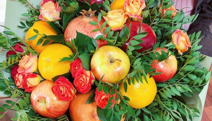 1547034518_1 Как сделать букет из фруктов своими руками: пошаговое руководство, фото