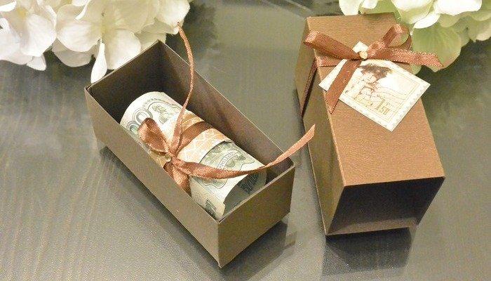 Упаковка денег