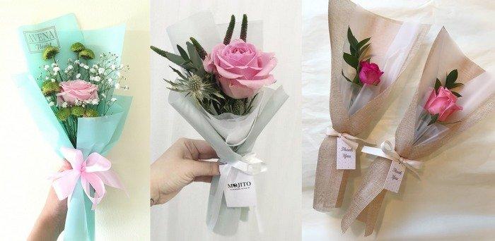 Как красиво упаковать розу