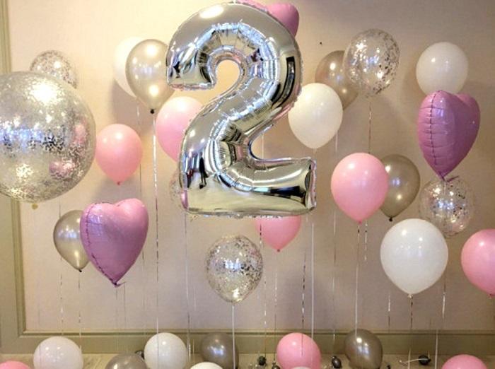 Гелевые шары на день рождения ребенка